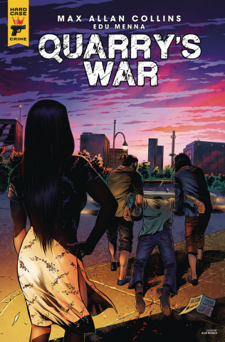 Quarry's War #4 (Menna Cover)