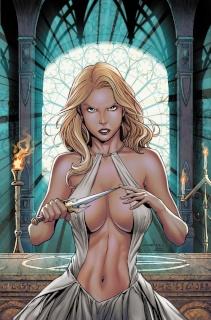 Grimm Fairy Tales: Satan's Hollow #5 (Meloni Cover)