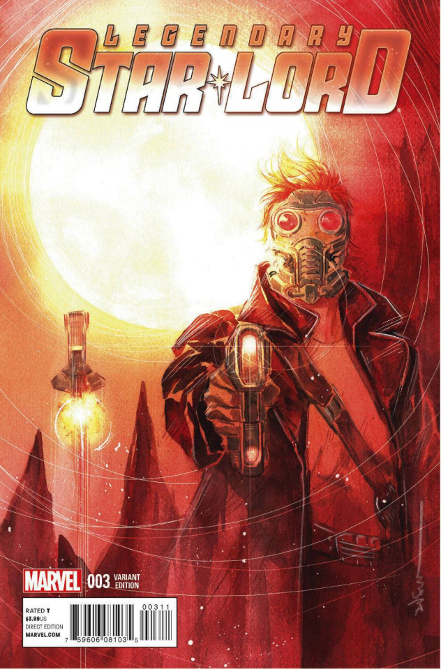 Legendary Star-Lord #3 (Nguyen Cover)
