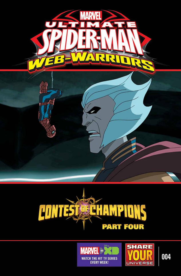 Marvel Universe: Ultimate Spider-Man - The Contest of Champions #4