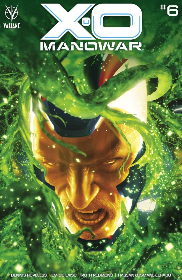 X-O Manowar #6 (Rahzzah Cover)