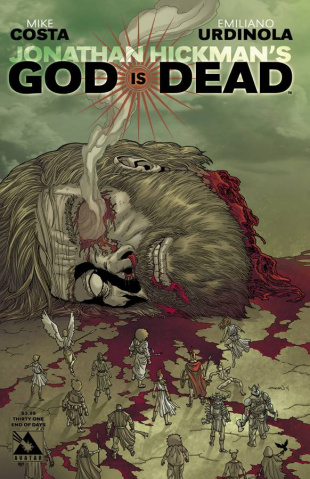 God Is Dead #31 (End of Days Cover)