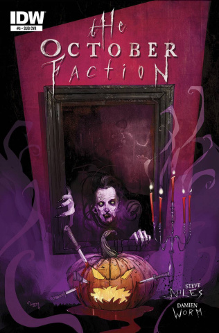 The October Faction #5 (Subscription Cover)