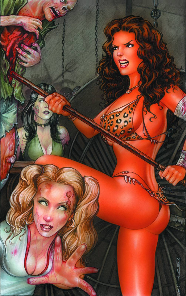 Cavewoman: The Zombie Situation #2 (Cover F)