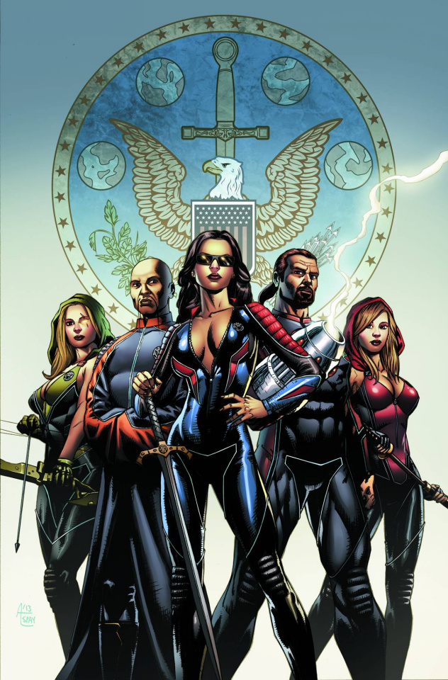 Grimm Fairy Tales: Realm Knights #1 (Spay Cover)