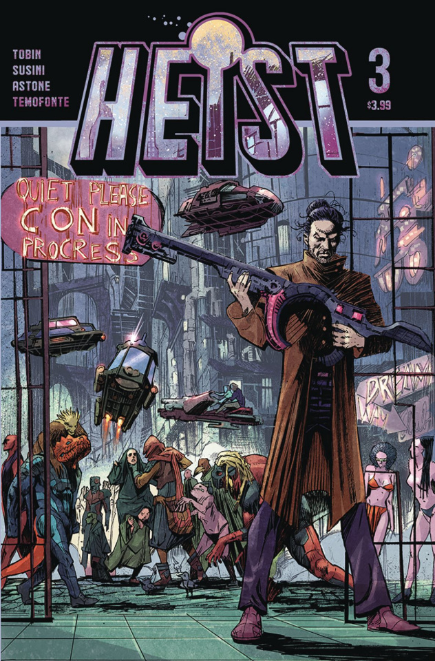 Heist or How to Steal a Planet #3
