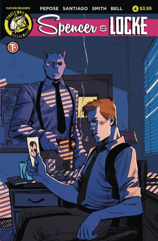 Spencer & Locke #4 (Santiago Jr. Cover)