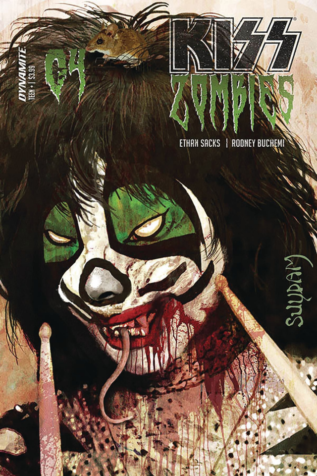 KISS: Zombies #4 (Suydam Cover)