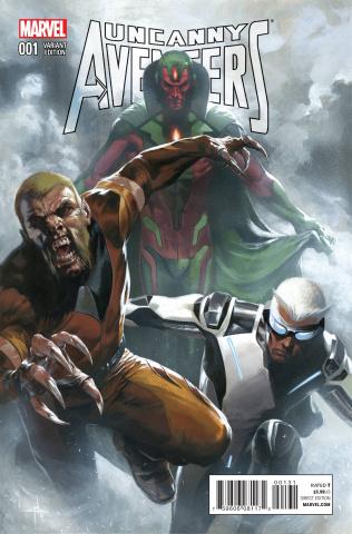 Uncanny Avengers #1 (Dell'otto Cover)