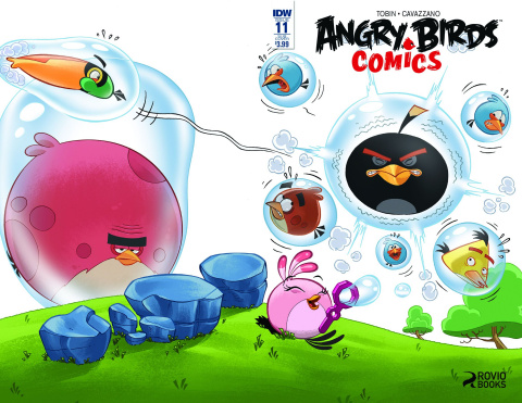 Angry Birds Comics #11 (Subscription Cover)