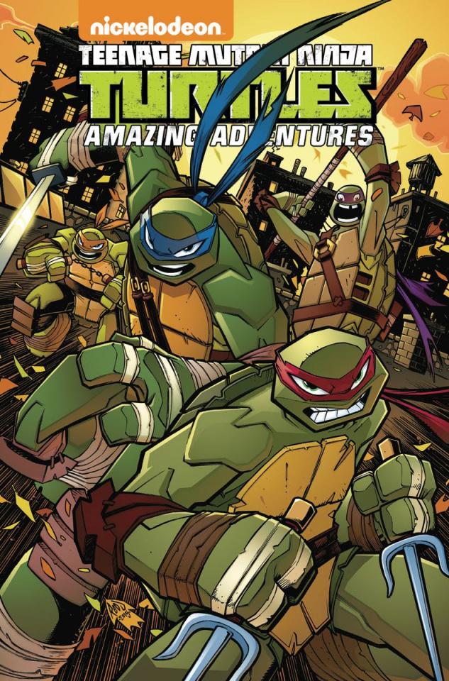Teenage Mutant Ninja Turtles: Amazing Adventures Vol. 2