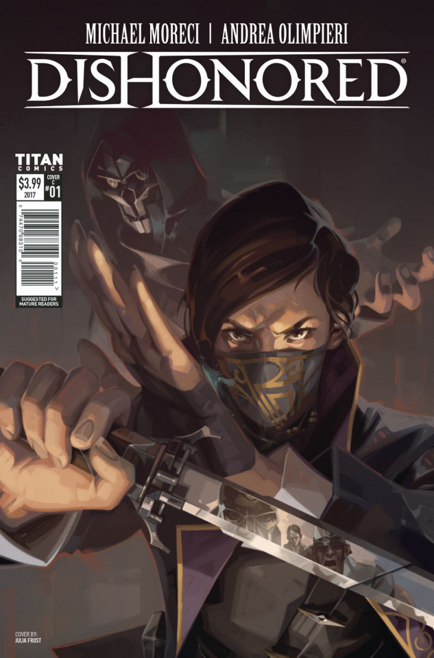 Dishonored: Peeress and the Price #1 (Frost Cover)