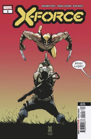 X-Force #1 (Camuncoli 2nd Printing)