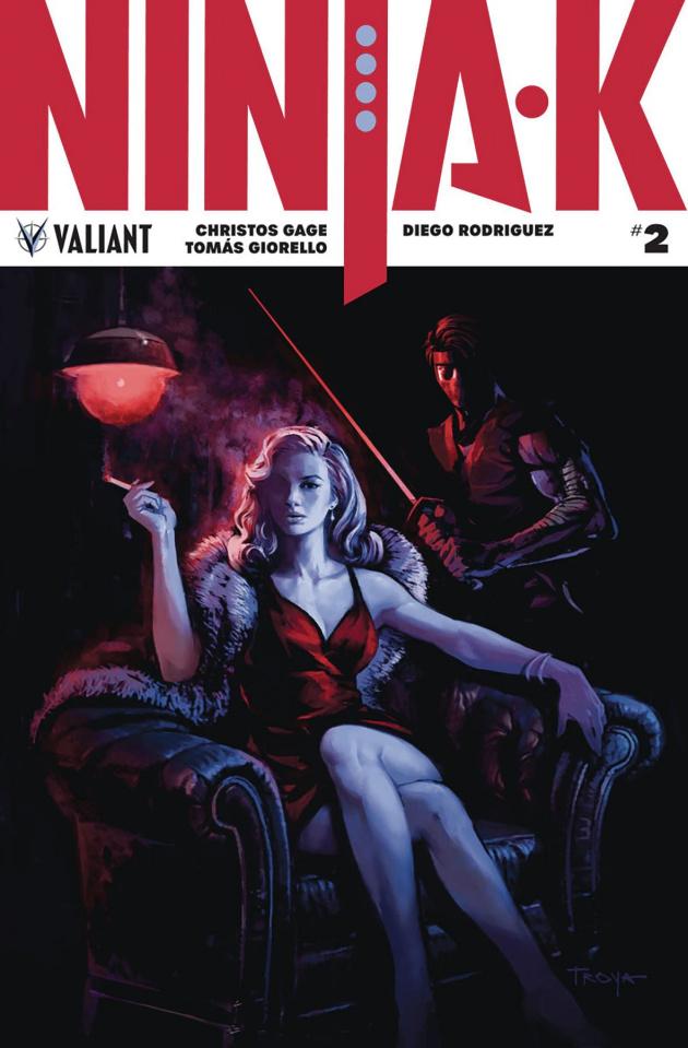 Ninja-K #2 (Troya Cover)