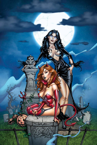 Grimm Fairy Tales Halloween Special 2014 (Dooney Cover)