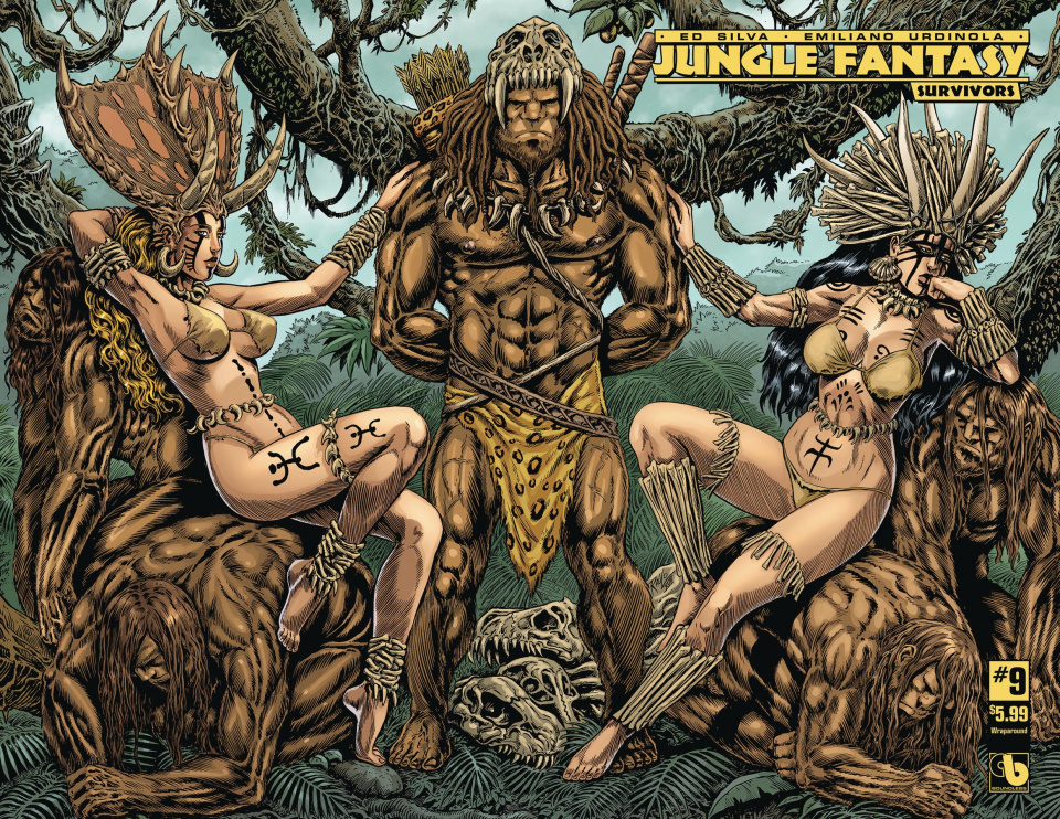 Jungle Fantasy: Survivors #9 (Wrap Cover)