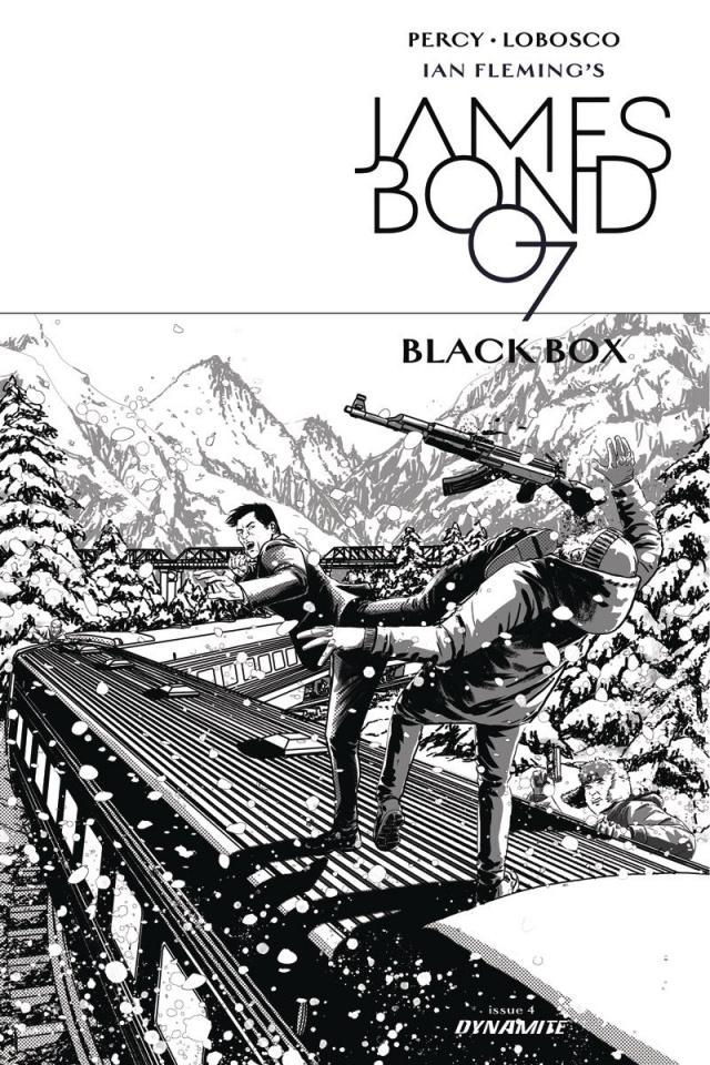 James Bond: Black Box #4 (10 Copy Masters B&W Cover)