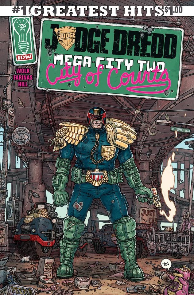 Judge Dredd: Mega-City Two #1 (IDW Greatest Hits)