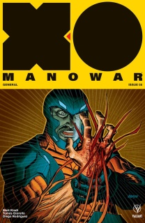 X-O Manowar #5 (Johnson Cover)