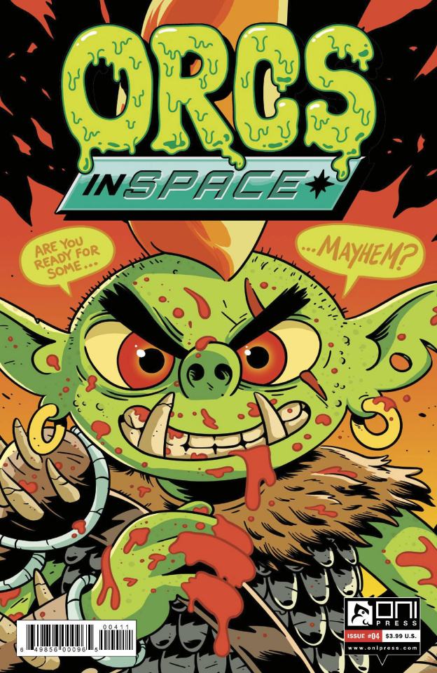 Orcs in Space #4 (Vigneault Cover)