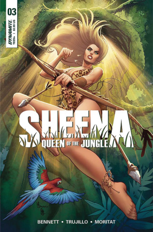 Sheena #3 (Moritat Cover)