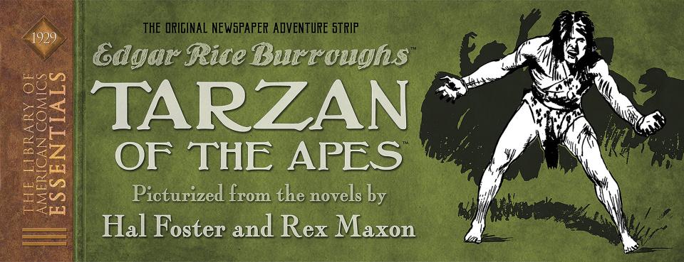 The Library of American Comics Essentials Vol. 7: Tarzan of the Apes
