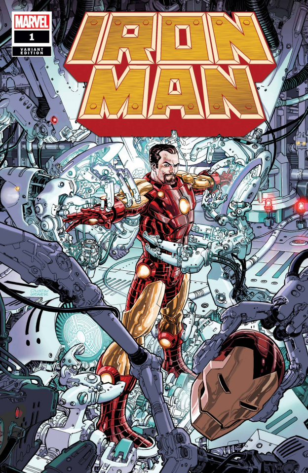 Iron Man #1 (Weaver Cover)