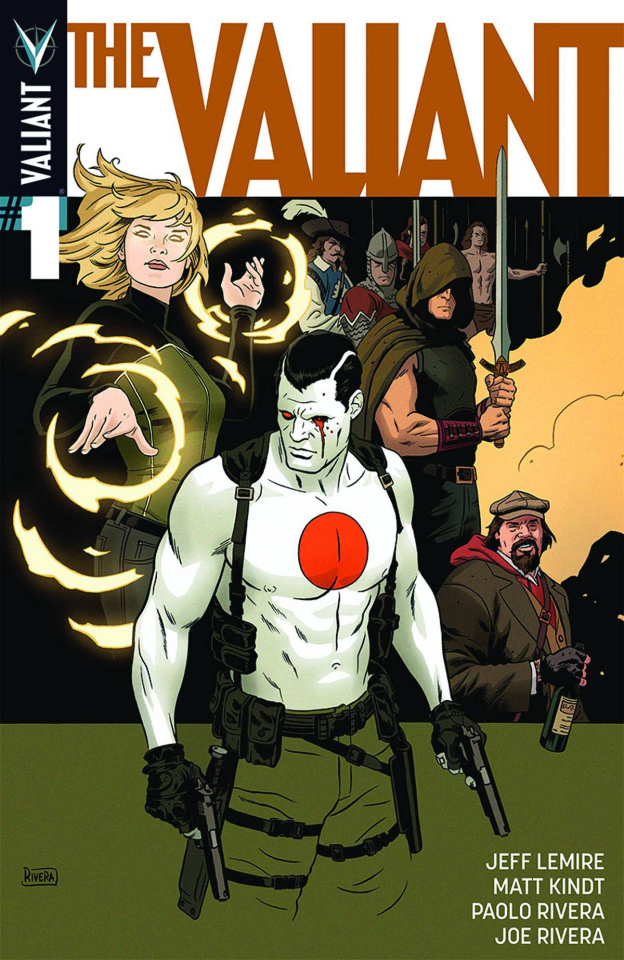 The Valiant #1 (3rd Printing)