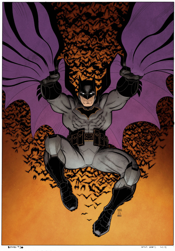 Batman #50 (Arthur Adams Cover)