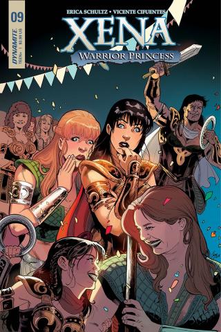 Xena #9 (Cifuentes Cover)