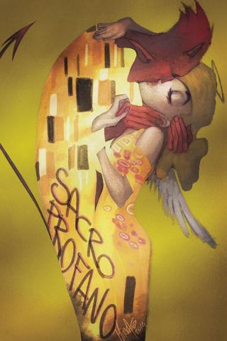 Un/Sacred #3 (10 Copy Andolfo Gold Klimt Cover)