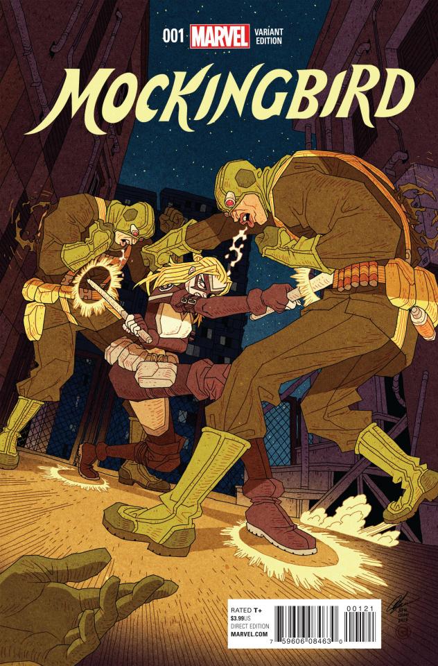 Mockingbird #1 (Chan Cover)