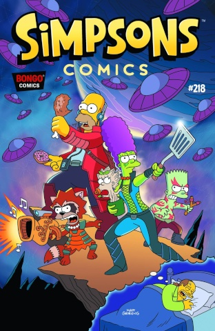 Simpsons Comics #218