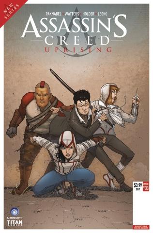 Assassin's Creed: Uprising #3 (Araujo Cover)