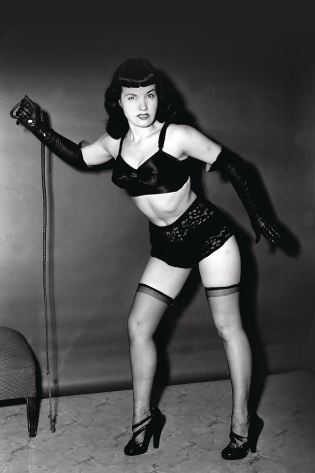 Bettie Page #4 (10 Copy Photo Virgin Cover)
