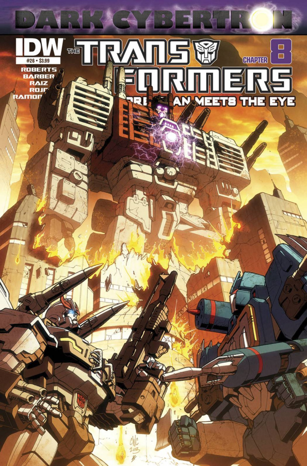 The Transformers: More Than Meets the Eye #26: Dark Cybertron, Part 8