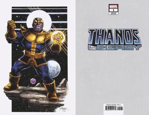 Thanos Legacy #1 (Perez Virgin Cover)