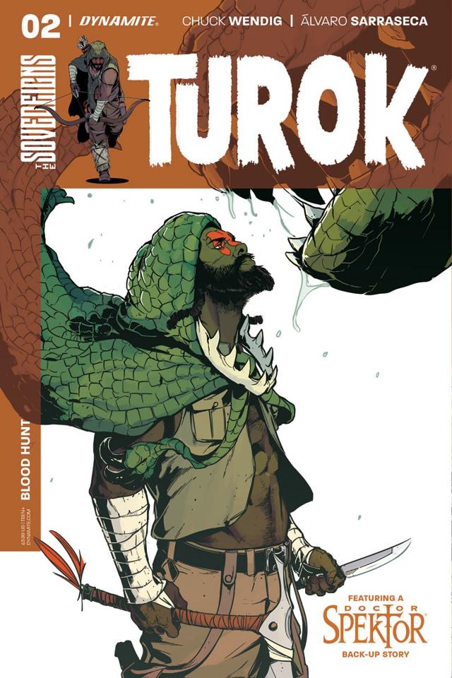 Turok #2 (Sarraseca Cover)