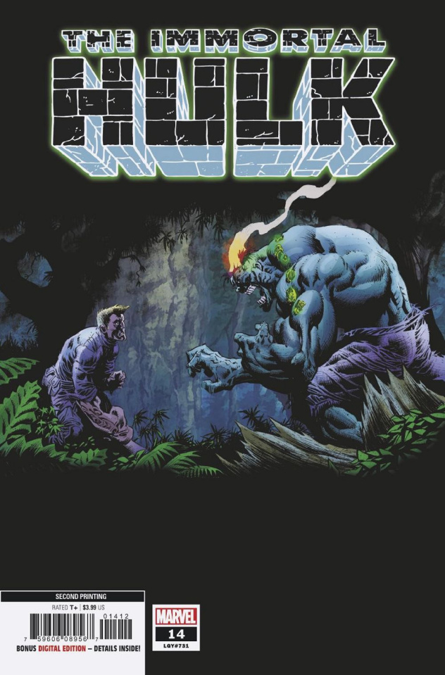 The Immortal Hulk #14 (Hotz 2nd Printing)
