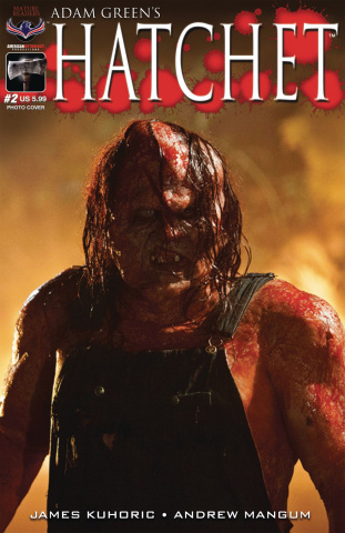 Hatchet #2 (Limited Edition Photo Cover)