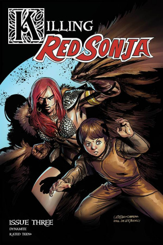Killing Red Sonja #3 (Gedeon Homage Cover)