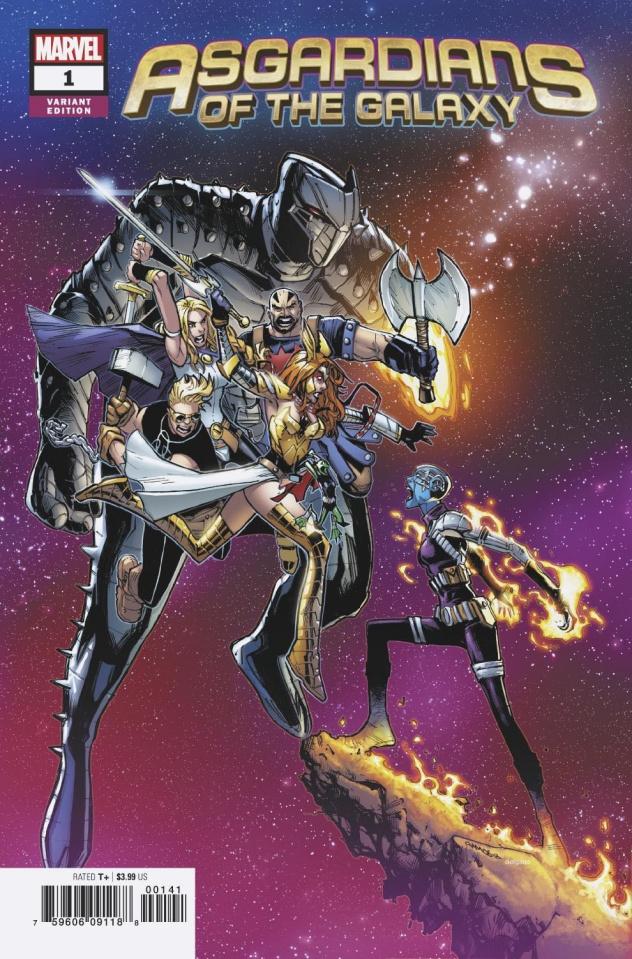 Asgardians of the Galaxy #1 (Ramos Cover)