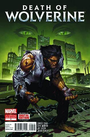 Death of Wolverine #2 (3rd Printing)