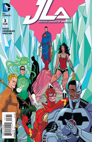 Justice League of America #3 (Variant Cover)
