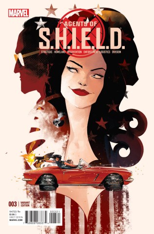Agents of S.H.I.E.L.D. #3 (Schmidt Cover)