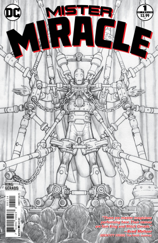 Mister Miracle #1 (4th Printing)