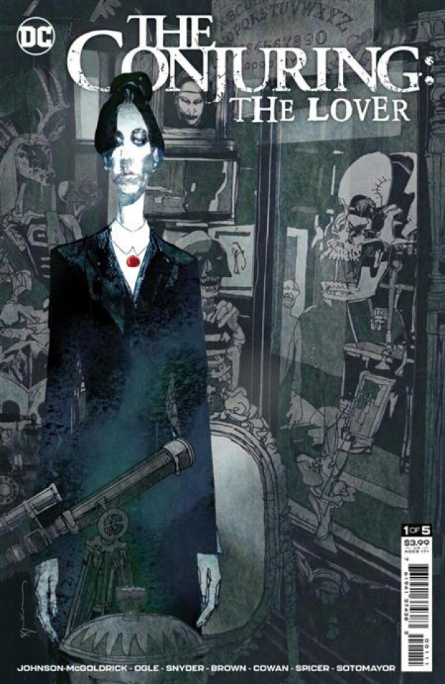 The Conjuring: The Lover #1 (Bill Sienkiewicz Cover)