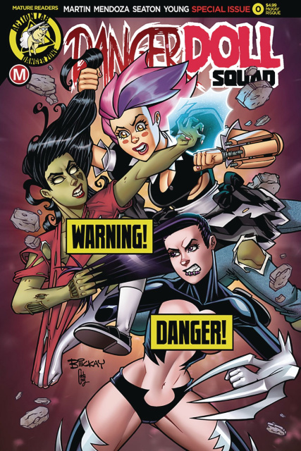 Danger Doll Squad #0 (McKay Risque Cover)
