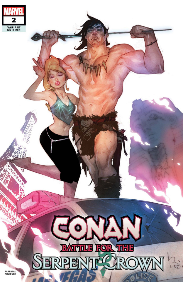 Conan: Battle for the Serpent Crown #2 (Caldwell Cover)