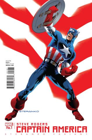 Captain America: Steve Rogers #1 (Steranko Cover)